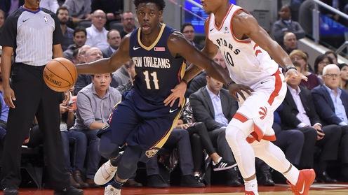 Kết quả và highlights trận Toronto Raptors - New Orleans Pelicans