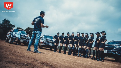 Đội Chevrolet Colorado hội quân trước thềm giải đua VOC 2017