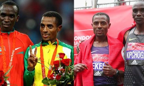London Marathon 2018: Kipchoge so tài Bekele hứa hẹn KLTG mới
