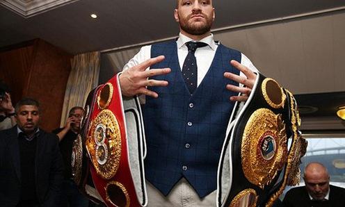 Bí mật của nhà vô địch Tyson Fury: Thực đơn của người khổng lồ