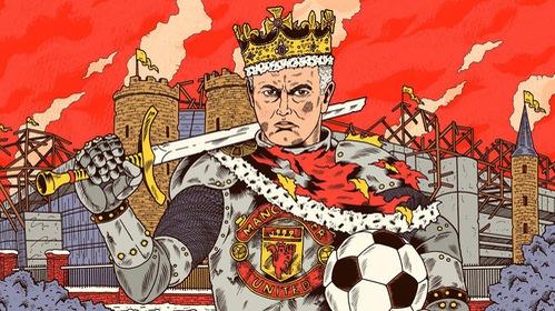 Jose Mourinho: Ông hoàng cô ??c trong pháo ?ài Old Trafford