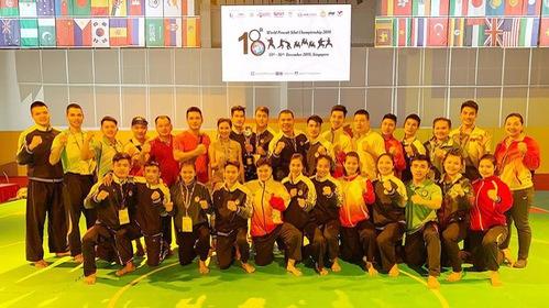 Pencak Silat Việt Nam xếp thứ nhì tại giải Vô địch Pencak Silat Thế giới tại Singapore