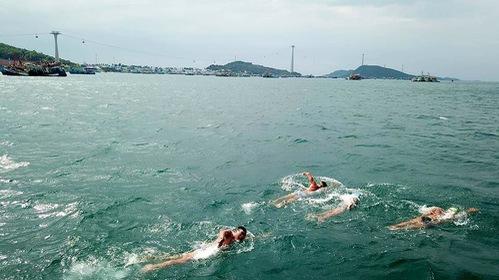 Kình ngư Para Games người Việt bơi 20km vượt biển gây quĩ trẻ em nghèo