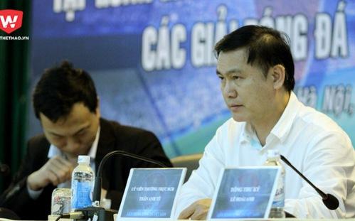 Bầu Tú rút khỏi cuộc đua vị trí Phó chủ tịch ở VFF