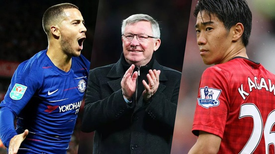 Eden Hazard không thể đến Man Utd vào năm 2012 vì... Sir Alex Ferguson?
