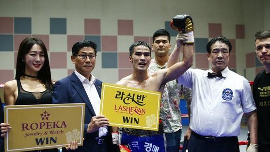Quyền Anh chuyên nghiệp Việt Nam thắng lớn tại Hàn Quốc