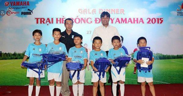 Chương trình nhịp đập 360 độ thể thao đưa tin về lễ bế mạc trại hè bóng đá  Yamaha tại Hà Nội