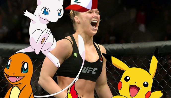 """""""Nữ hoàng UFC"""" Ronda Rousey và những ngôi sao phát cuồng phim Anime"""
