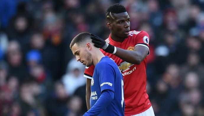 Hazard và Pobga bị chặt chém tơi tả ở Ngoại hạng Anh 2018/19 như thế nào?