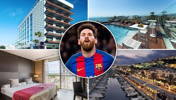 Khám phá khách sạn 16 triệu đồng/ đêm của Lionel Messi