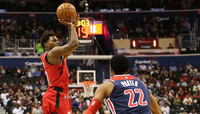 Video kết quả NBA 2018/19 ngày 21/10: Toronto Raptors - Washington Wizards