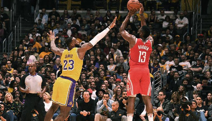 Video kết quả NBA 2018/19 ngày 21/10: Los Angeles Lakers - Houston Rockets