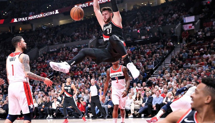 Video kết quả NBA 2018/19 ngày 23/10: Portland Trail Blazers - Washington Wizards