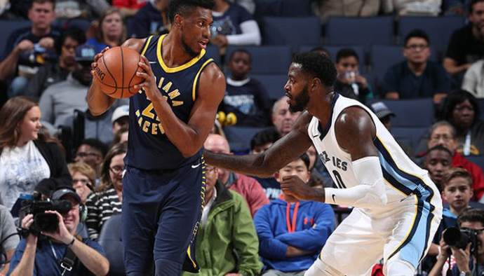 Video kết quả NBA Preseason 2018/19: Indiana Pacers - Memphis Grizzlies