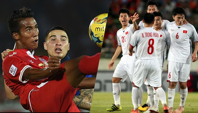 """Sao Myanmar """"n?n gân"""" ?TVN: """"Chúng tôi có th? vào chung k?t AFF Cup 2018"""""""