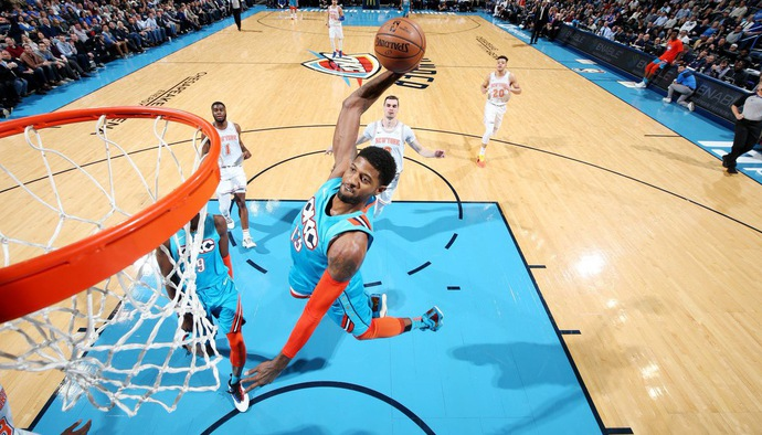 Video kết quả NBA 2018/19 ngày 15/11: New York Knicks - Oklahoma City Thunder