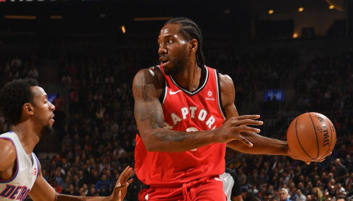 Video kết quả NBA 2018/19 ngày 15/11: Toronto Raptors - Detroit Pistons