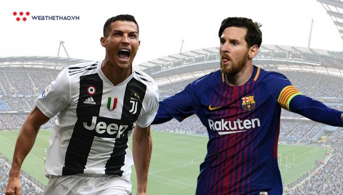 Thống kê chỉ ra Lionel Messi hiệu quả hơn Ronaldo trong năm 2018