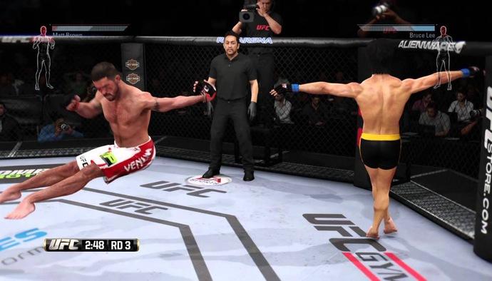 Chết cười với những lỗi siêu vô lý trong tựa game UFC