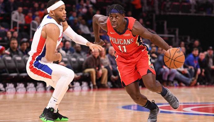Những pha bóng của siêu hậu vệ Jrue Holiday khiến hàng thủ Detroit Pistons vỡ vụn