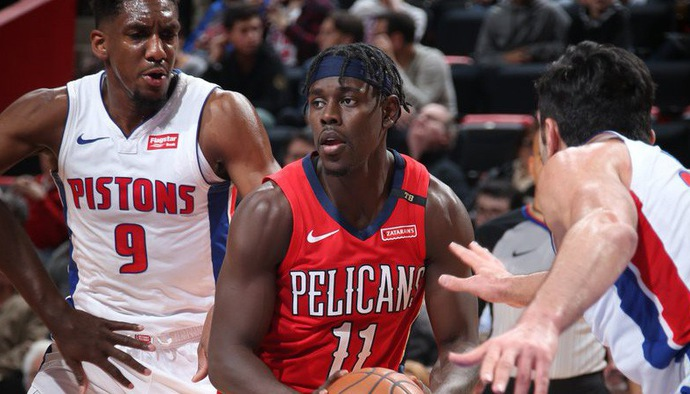 Video kết quả NBA 2018/19 ngày 10/12: New Orleans Pelicans - Detroit Pistons