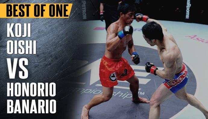 Đối đầu nảy lửa ONE Championship: Koji Oishi - Honorio Banario