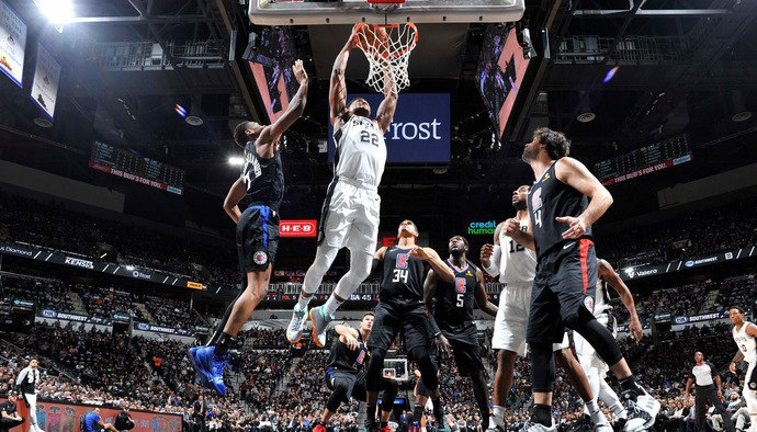 Video kết quả NBA 2018/19 ngày 14/12: San Antonio Spurs - Los Angeles Clippers