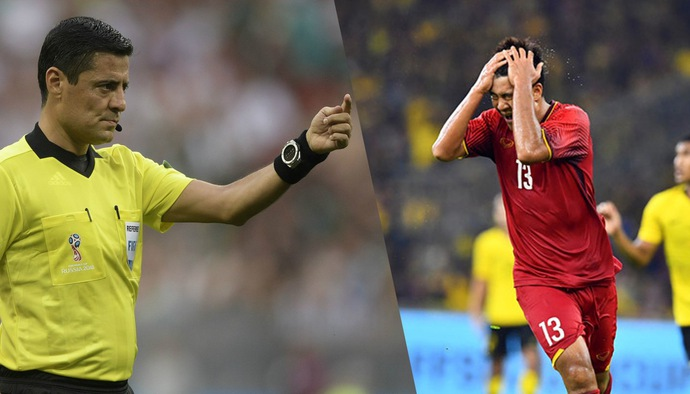 Trọng tài bắt trận ĐT Việt Nam - ĐT Malaysia từng mắc sai lầm tai hại ở chung kết AFF Cup