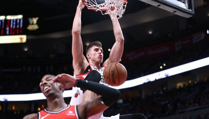 Video kết quả NBA 2018/19 ngày 15/12: Portland Trail Blazers - Toronto Raptors