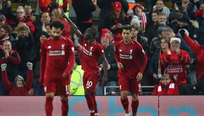 Thống kê bóng đá vòng 17 Ngoại hạng Anh 2018/19: Liverpool - Man Utd