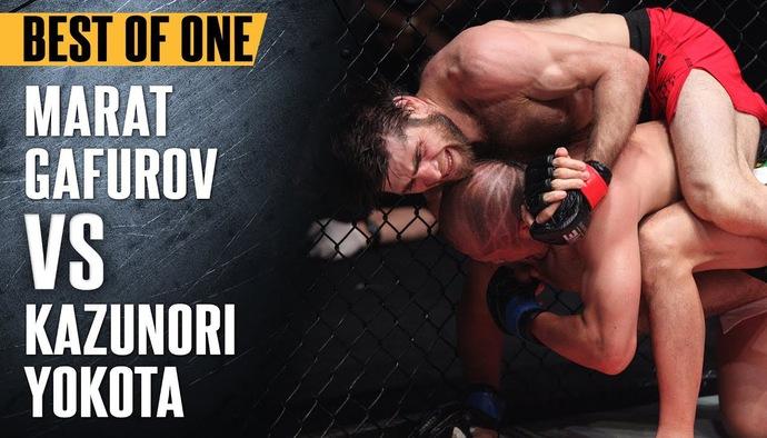 Đối đầu nảy lửa ONE Championship: Marat Gafurov - Kazunori Yokota