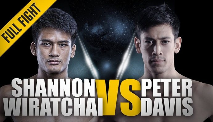 Đối đầu nảy lửa ONE Championship: Shannon Wiratchai - Peter Davis