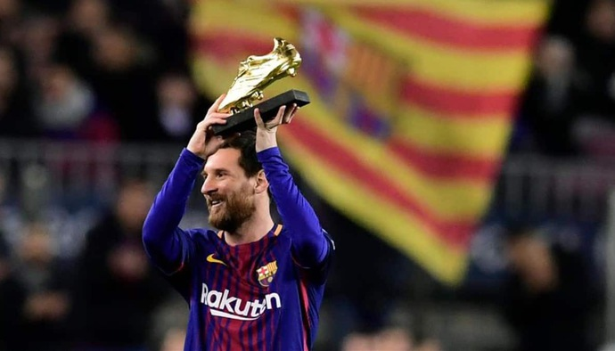 Messi giành giày vàng châu Âu lần thứ 5 như thế nào?
