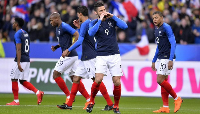 Profile đội tuyển: Đội hình ĐT Pháp tham dự World Cup 2018