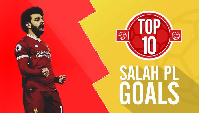 10 pha làm bàn không thể tin nổi của Mohamed Salah tại Premier League 2017/18