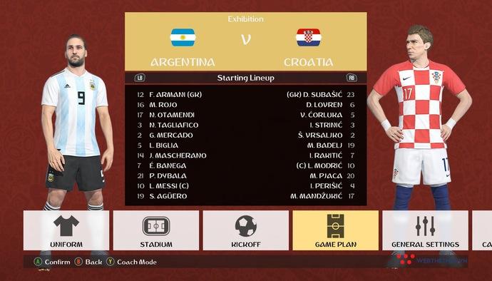 PES WORLD CUP | #10 | MESSI TỎA SÁNG, ARGENTINA ĐÈ BẸP CROATIA