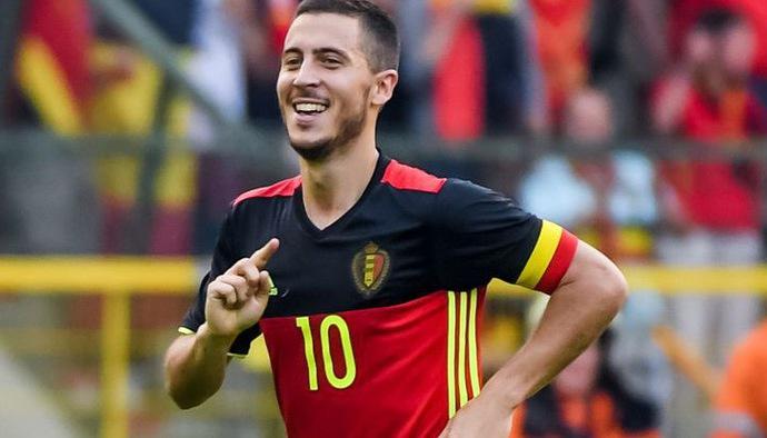 10 siêu phẩm NHM ĐT Bỉ kỳ vọng Eden Hazard tái hiện tại World Cup 2018