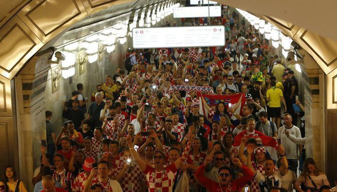 Gạt đi nước mắt, Croatia mở tiệc pháo sáng sau hành trình đáng tự hào tại World Cup 2018