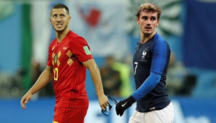 Griezmann và Hazard vắng mặt trong đội hình tiêu biểu World Cup 2018 do CĐV bầu chọn