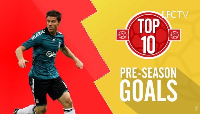 10 pha lập công ảo diệu của Liverpool trong giai đoạn trước mùa giải
