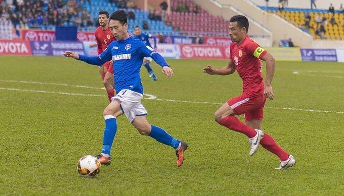 Video kết quả V.League 2018: CLB TP. Hồ Chí Minh - Than Quảng Ninh