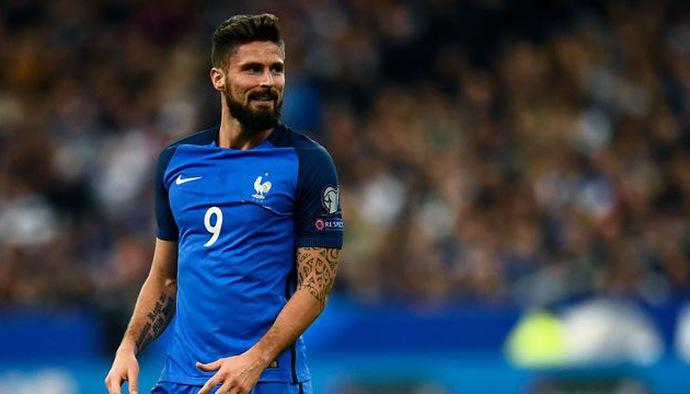 Những khoảnh khắc NHM kỳ vọng Olivier Giroud tái hiện tại World Cup 2018