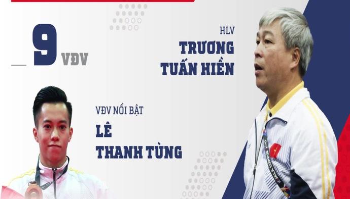Profile ĐT Thể dục dụng cụ Việt Nam tham dự ASIAD 2018