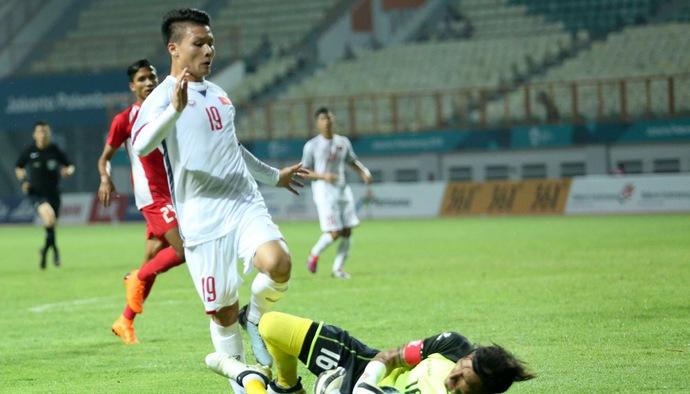 Tiền vệ Quang Hải tiết lộ điều đặc biệt mỗi khi Olympic Việt Nam bước vào trận đấu