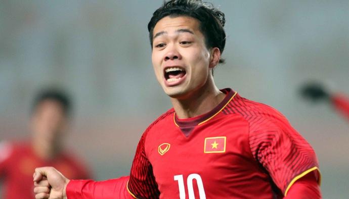 Profile tiền đạo U23 Việt Nam Nguyễn Công Phượng tham dự ASIAD 2018