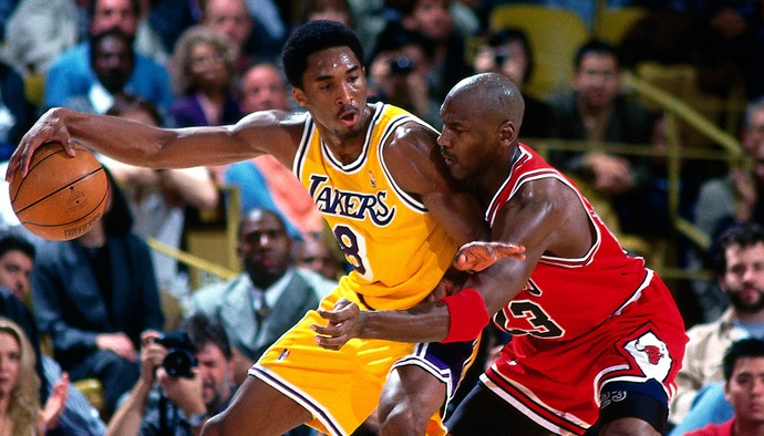 Di sản Michael Jordan tại NBA: Màn chạm trán khó quên với Kobe Bryant