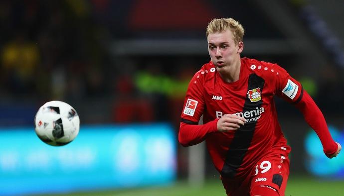 Những pha xử lý bóng thiên tài của sao trẻ Bundesliga Julian Brandt - Phần 2