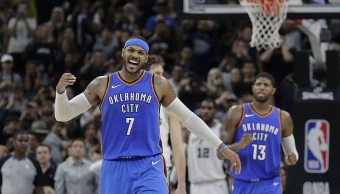 10 pha bóng hay nhất trong sự nghiệp của Carmelo Anthony tại NBA