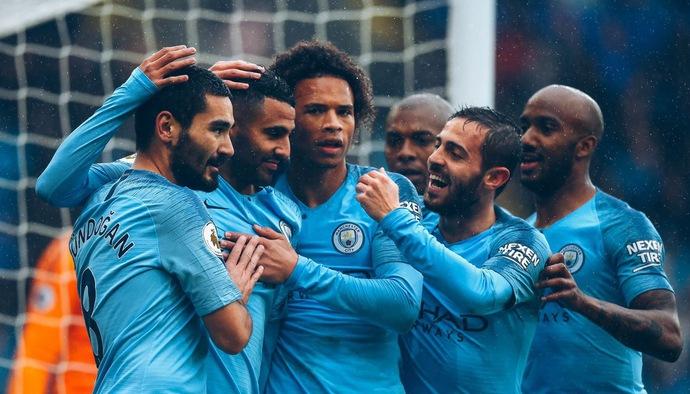 Thống kê vòng 6 Ngoại hạng Anh 2018/19: Man City áp đảo đội hình tiêu biểu