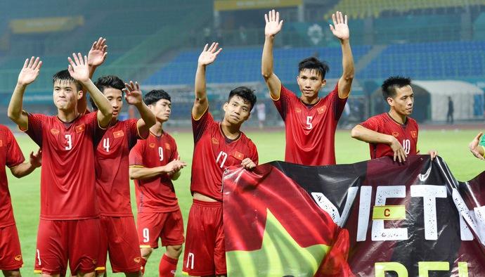 """Bùi Tiến Dũng và Top 5 cầu thủ Olympic Việt Nam """"cày"""" khỏe nhất tại ASIAD 2018"""